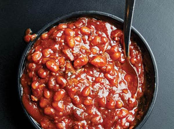 Fireman Bob's Baked Beans With Fire Roasted Tomato Recipe