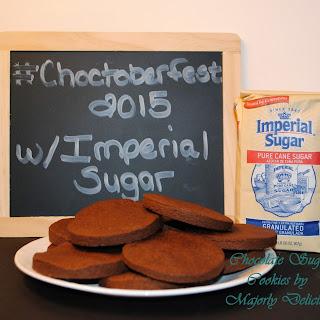 Chocolate Sugar Cookies - #Choctoberfest with Imperial Sugar