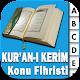 Kur'an-ı Kerim Konu Fihristi (app)