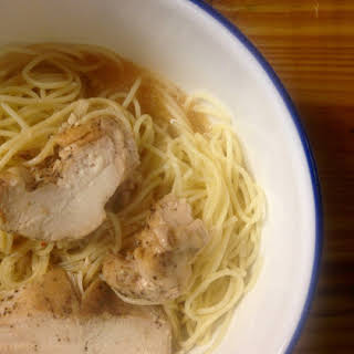 Easy Chinese Chicken Noodle Soup | Spicy Food For a Cold.