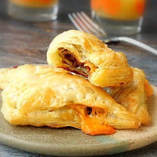 Bacon Cheddar Croissant Turnovers.