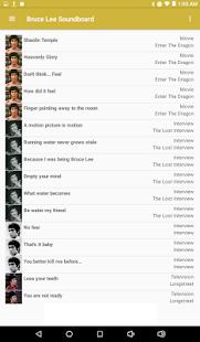 Bruce Lee Soundboard - náhled