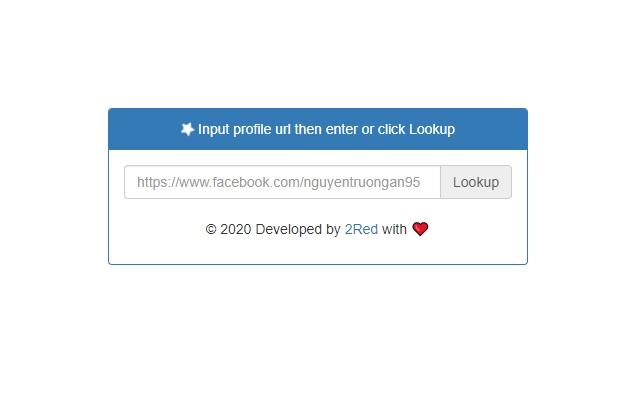 Lookup ID Facebook
