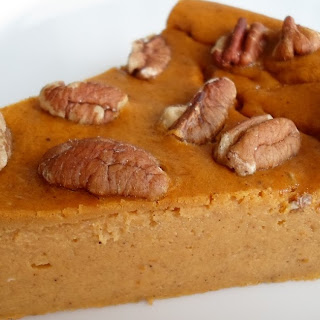 Bisquick Impossible Pumpkin Pecan Cheesecake.
