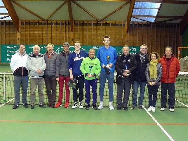 03/02/2019 - 60ème tournoi open : Jean-Philippe vainqueur chez les +45 ans !