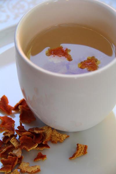 Mandarin Orange Peel Tea Recipe