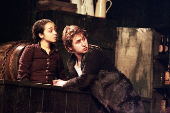 "Photo: Ruth Negga and Aaran Monaghan in ""Playboy of the Western World"". 2005"