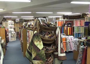 Photo: It was very similar to a good quilt shop in the US.  I couldn't see buying any of our material and paying more money there.