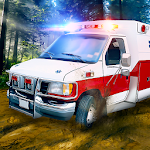 Ambulance Truck Simulator: Offroad Emergency Icon