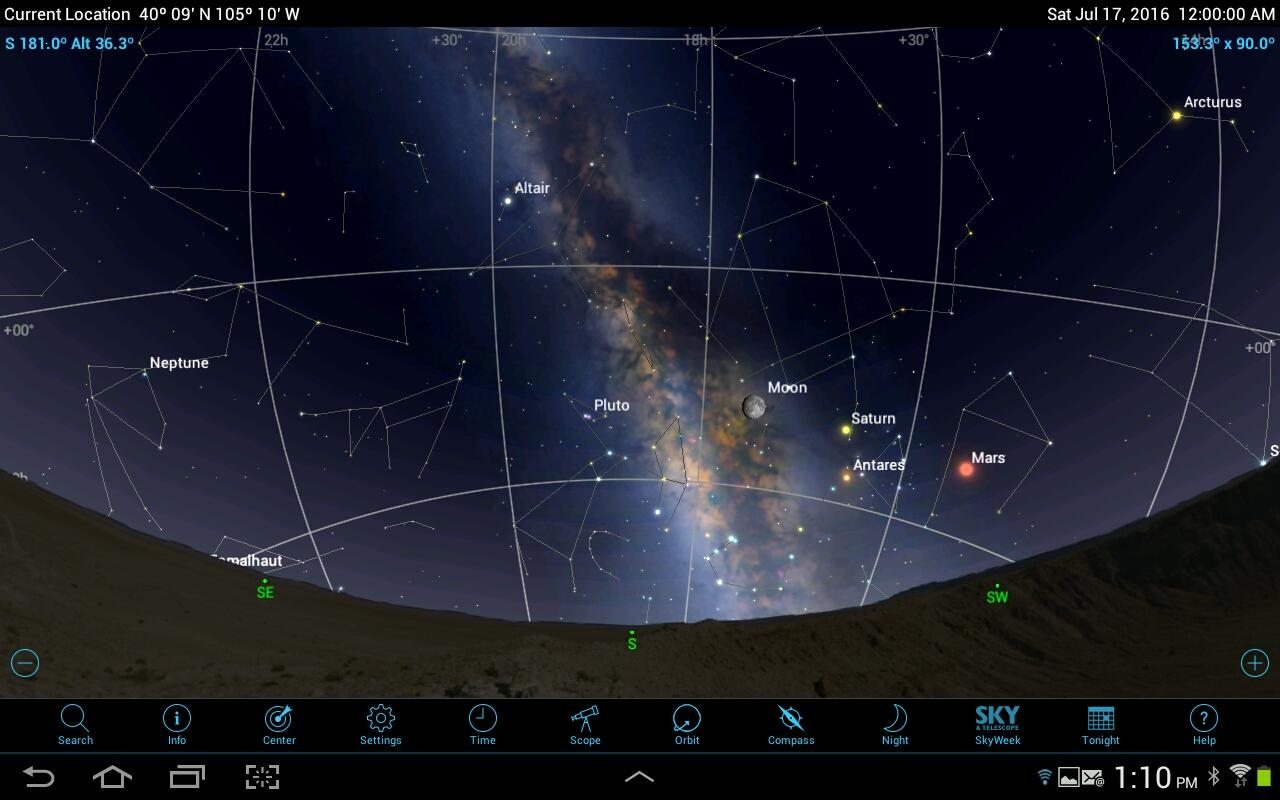 SkySafari 5 Pro – Screenshot