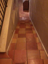Photo: Saltillo Tiles, Terra Cotta Mexican tile installation on steps and floors