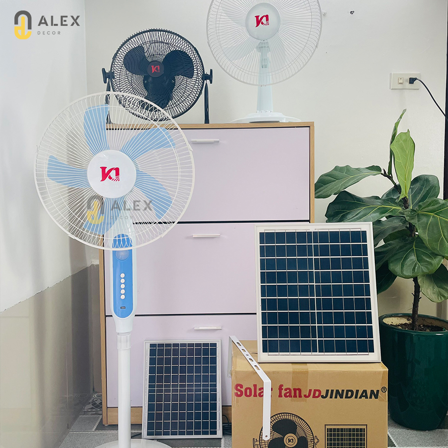 Quạt năng lượng mặt trời chính hãng Jindian 25W