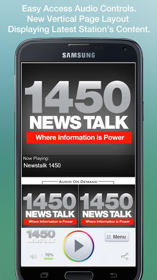 Newstalk 1450 - screenshot