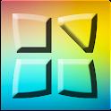 Colored Next Launcher Theme icon