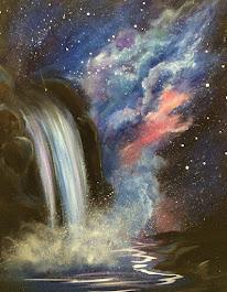 Cosmic Waterfall