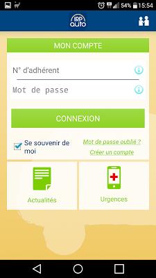 IRP AUTO Santé - screenshot