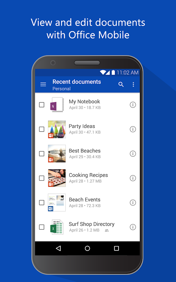 OneDrive – cloud storage- screenshot