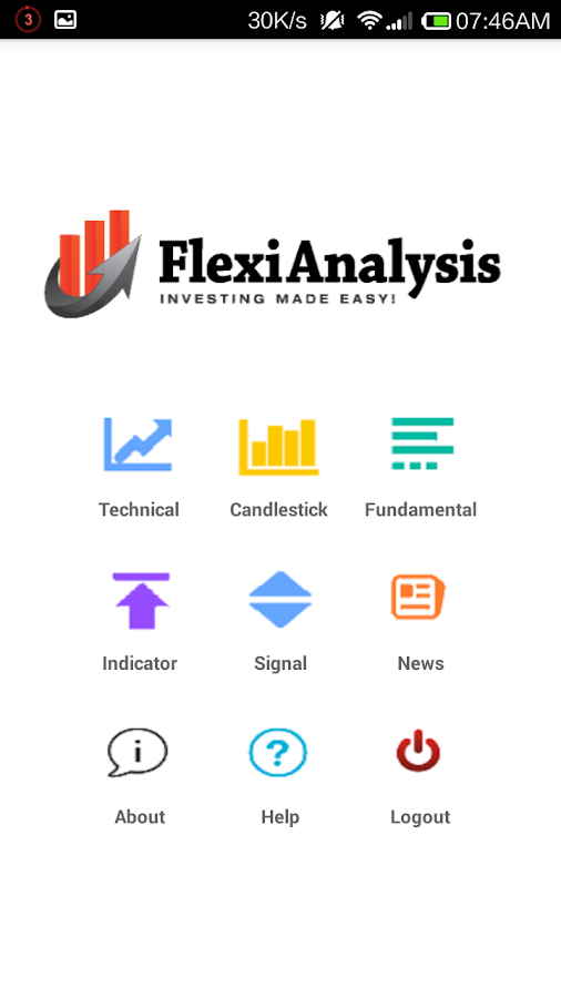 Flexi Analysis- screenshot