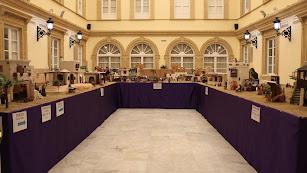 Ya está instalado el tradicional belén de la Diputación de Almería.