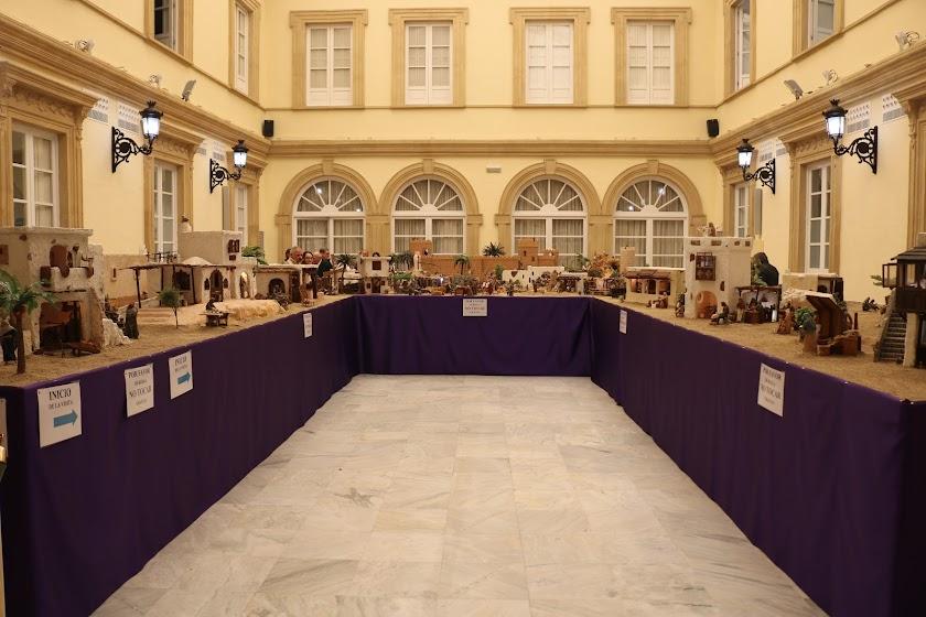 En imágenes: el belén de Diputación ya se puede visitar