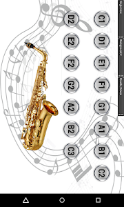 Virtual Saxophone screenshot 3