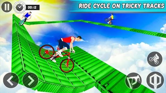 Impossible Tracks BMX Cycle Rider Stunts ? - náhled