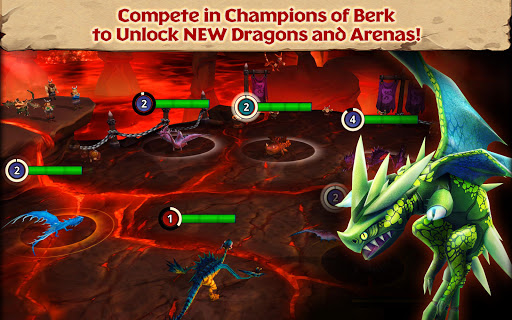 Dragons: Rise of Berk screenshot 12