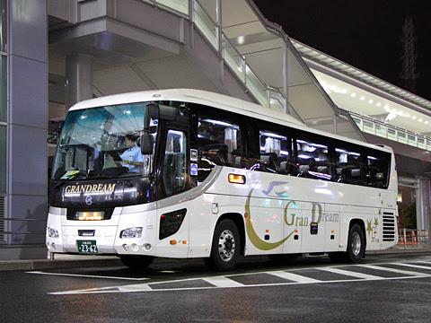 中国JRバス「百万石ドリーム広島号」(イメージ)