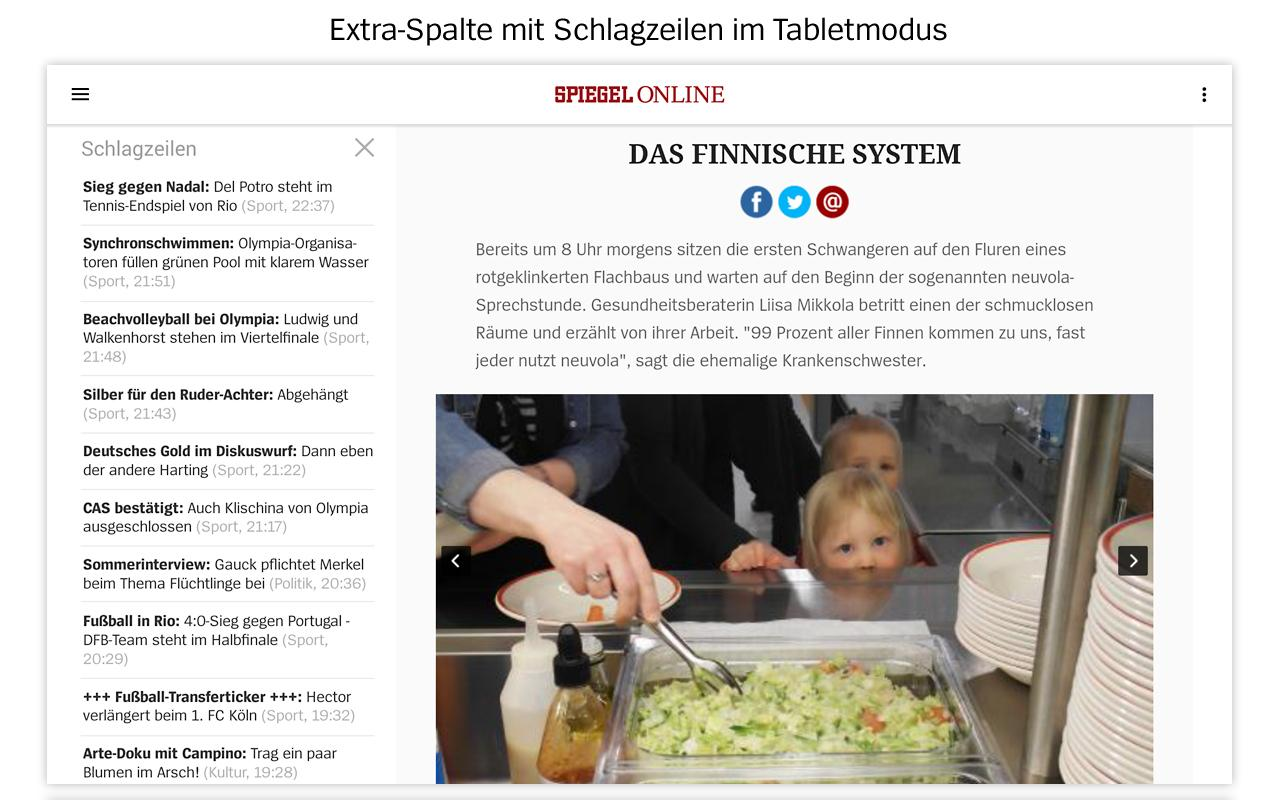 SPIEGEL ONLINE - News- screenshot