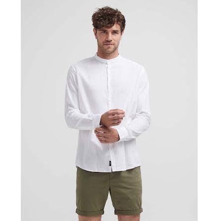 Holebrook Wille collarless shirt white