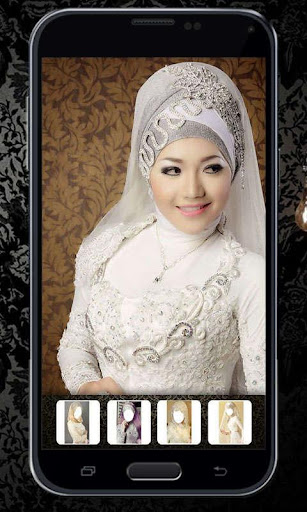 Hijab Wedding Photo Montage