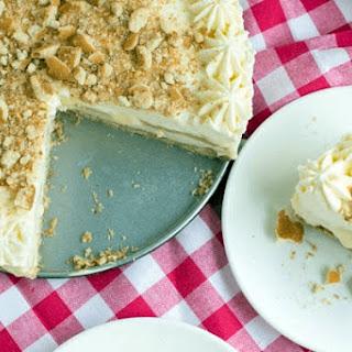 No Bake Banana Cream Pudding Cheesecake & Giveaway Recipe