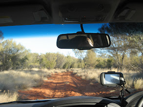 Photo: The road into Glen Helen Station (Dashwood Bore Road)