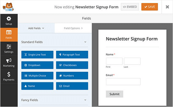 How to Create Mailchimp forms