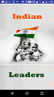 Indian Leaders and freedom fighters - náhled