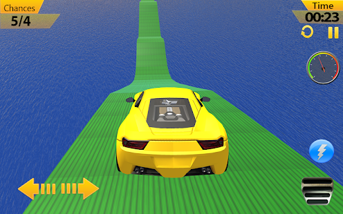 Racing Car Stunts Mission Impossible Tracks - náhled