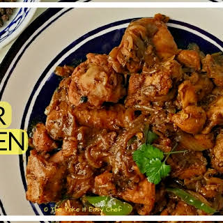 Black Pepper Chicken (Murgh Kali Mirch).