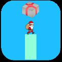 Santa Claus Christmas Stick icon