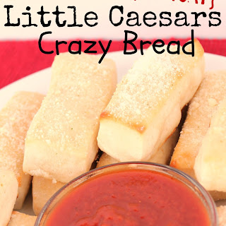 Copycat Little Caesars Crazy Bread.