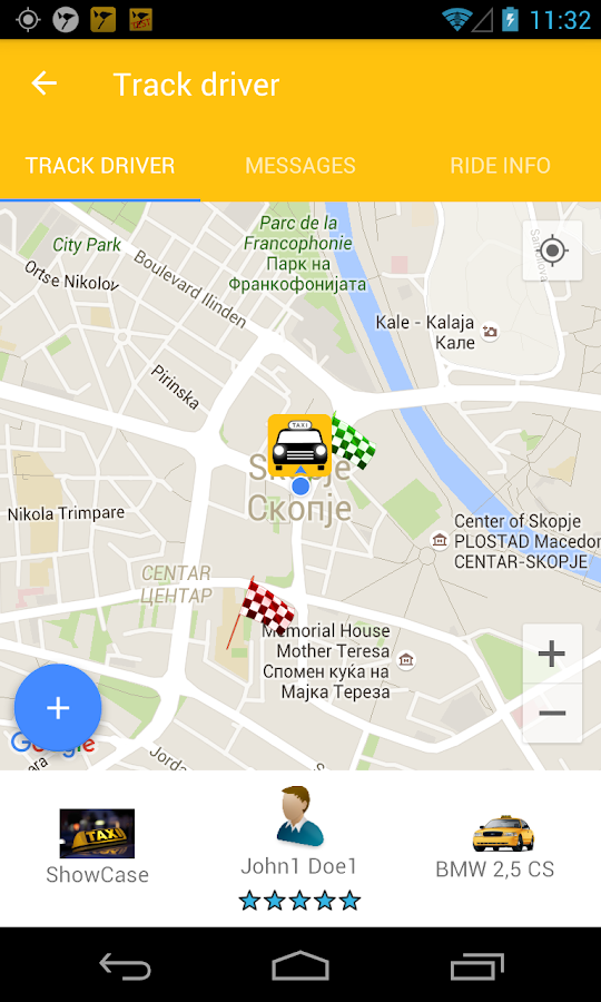 Claxi - taxi just a click away- screenshot