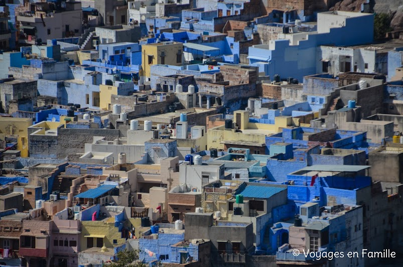 Jodhpur, blue city