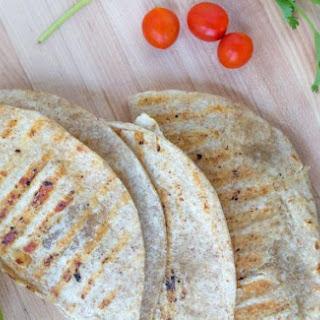Whole Wheat Chicken Quesadillas.