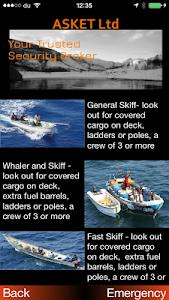 ASKET Maritime Security App screenshot 6
