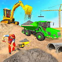 Heavy Excavator Simulator Game icon