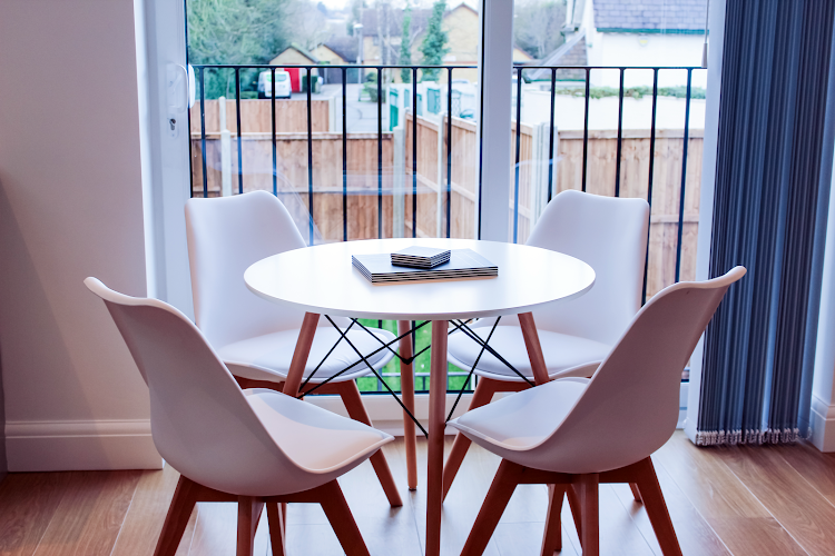 Dining space at West Finchley