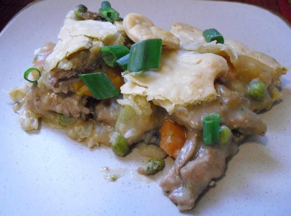 Italian Steak Pot Pie Recipe