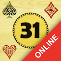 Thirty-One | 31 | Blitz - Card Game Online icon