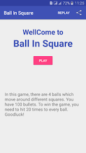 Ball In Square - náhled