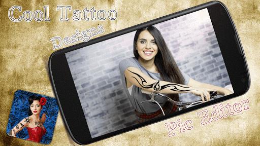 Cool Tattoo Designs Pic Editor