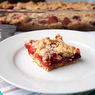 Strawberry Crumb Bars Recipe